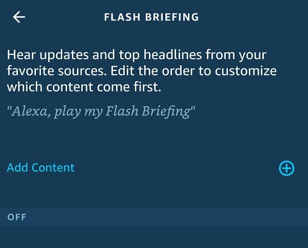 How To Customize Amazon Alexa Flash Briefing Add Content