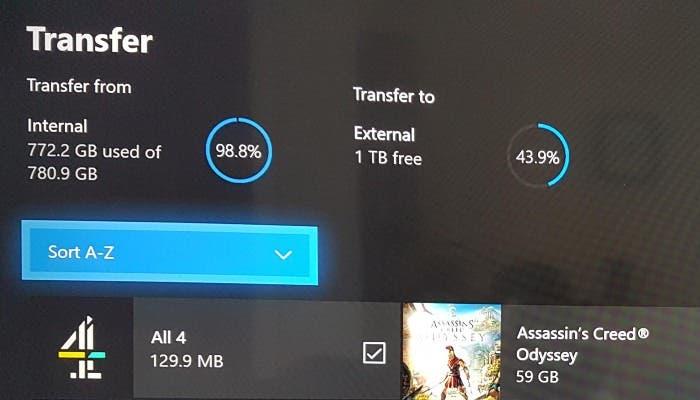 Xbox Transfer Games