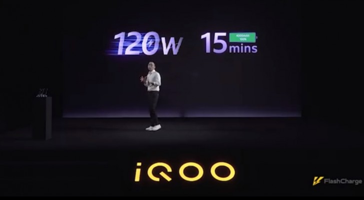 Vivo iQOO Unveils The Worlds First 120W Fast Charge Technology
