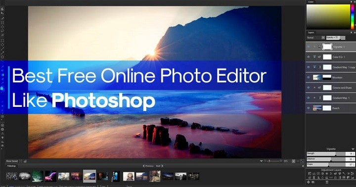 15 Best Free Online Photo Editor Like Photoshop in 2020