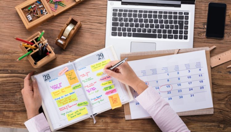 How to Productively Plan Your Weeks and Days