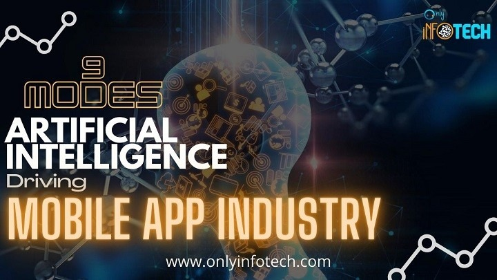 9 Modes Of Artificial Intelligence is Driving Mobile App Industry