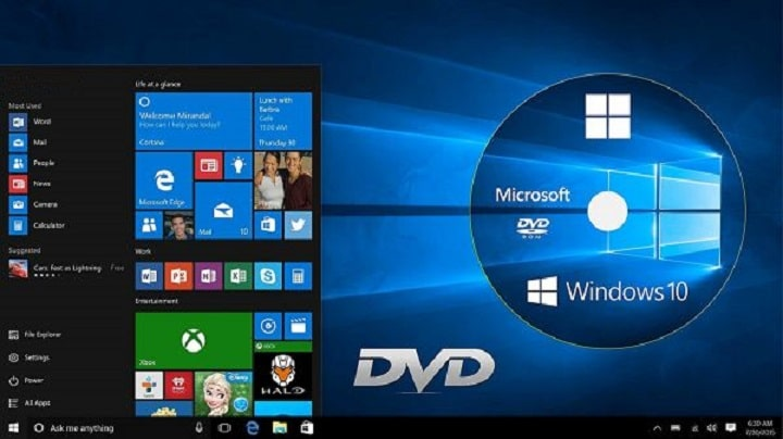 How to Write/Burn CD or DVD on Windows 10