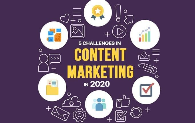 5 Challenges in Content Marketing in 2020