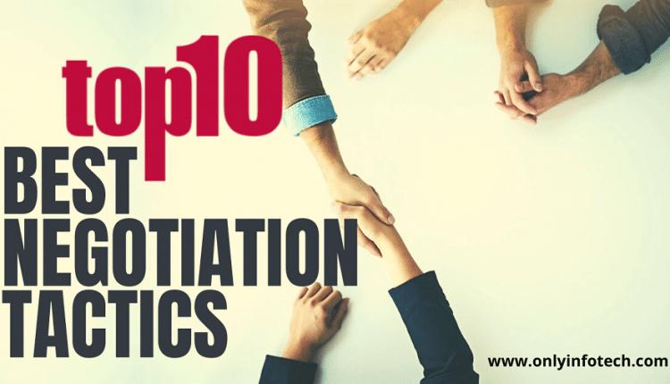 Top 10 Best Negotiation Tactics