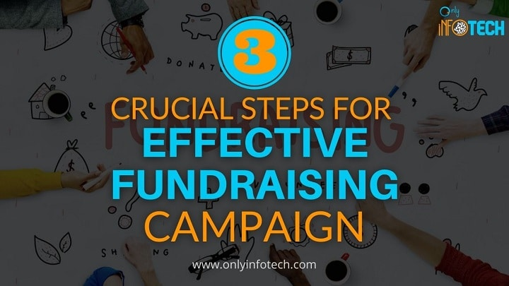 3 Crucial steps for effective fundraising campaign