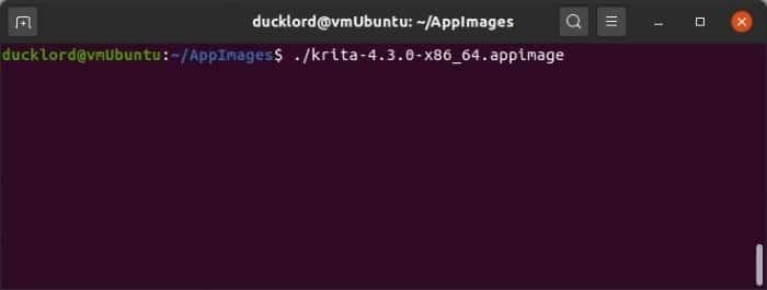 Install Latest Krita In Ubuntu Run From Terminal