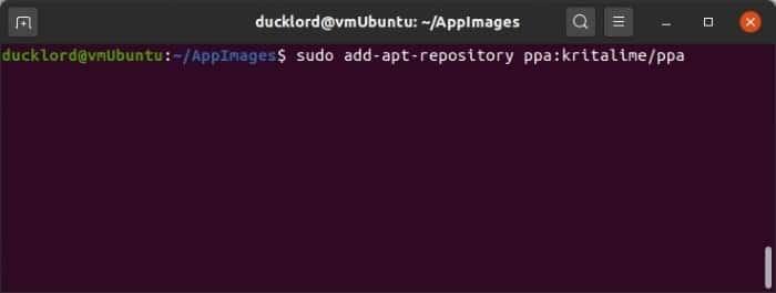 Install Latest Krita In Ubuntu Add Ppa
