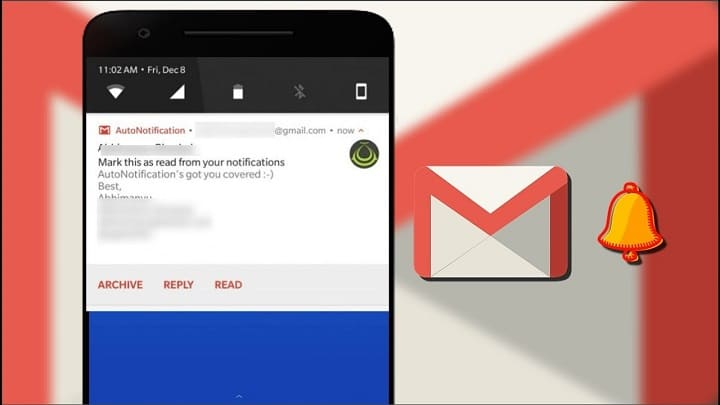 """How to Add """"Mark as Read"""" to Gmail Notifications on Android"""