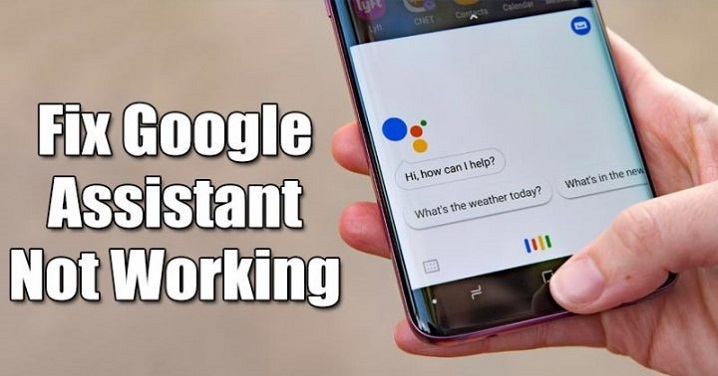 5 Tips to fix 'Google Assistant Not Working' issue