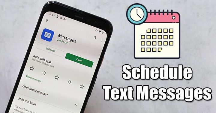 Schedule Text Message with Google Messages App