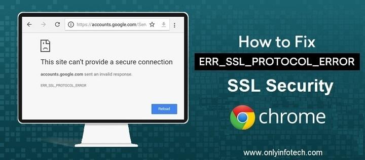 How to fix SSL security certificate errors in chrome