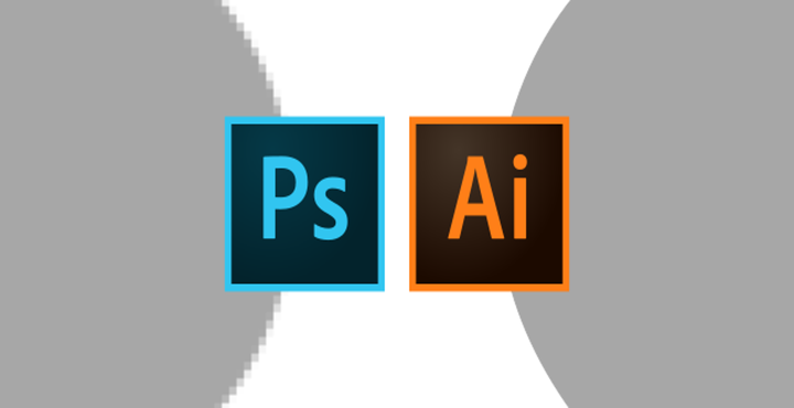 What is the difference between Illustrator and Photoshop?