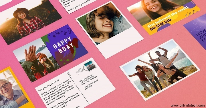 Print & Send Personalized Postcards with Photos Online