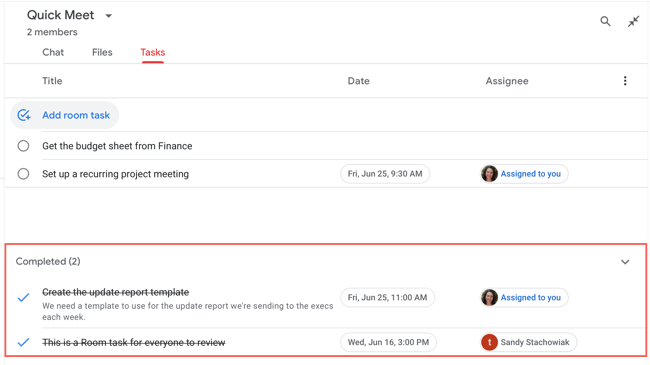 How to Create and Assign Tasks in Google Chat, ONLY infoTech