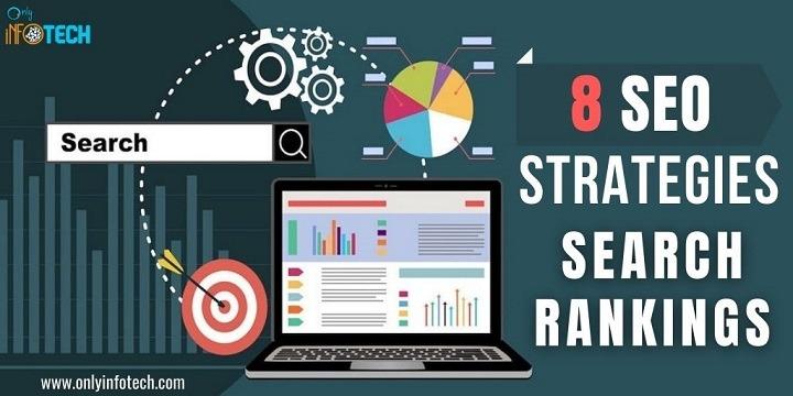 8 SEO Strategies to Increase Search Rankings of Website