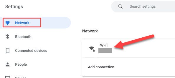 How to Forget Wi-Fi Network Option on Chromebook, ONLY infoTech