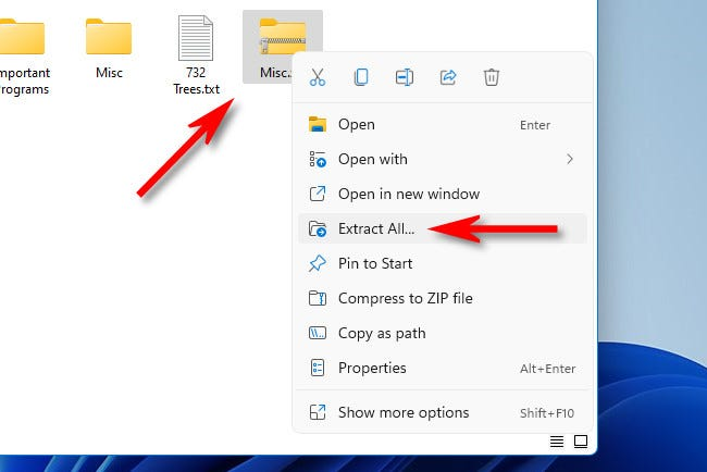 How to Zip and Unzip Files on Windows 11, ONLY infoTech